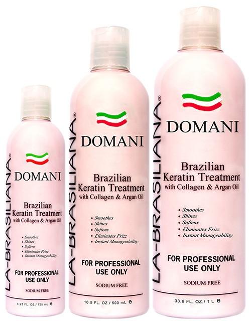 La-Brasiliana DOMANI Keratin Treatment with Collagen