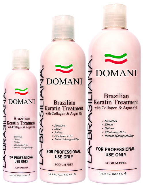 La-Brasiliana DOMANI Keratin Treatment with Collagen