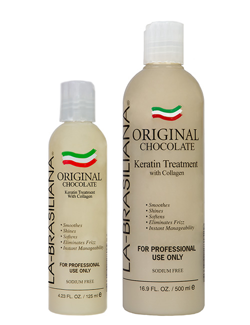 La-Brasiliana ORIGINAL Chocolate Keratin Treatment with Collagen