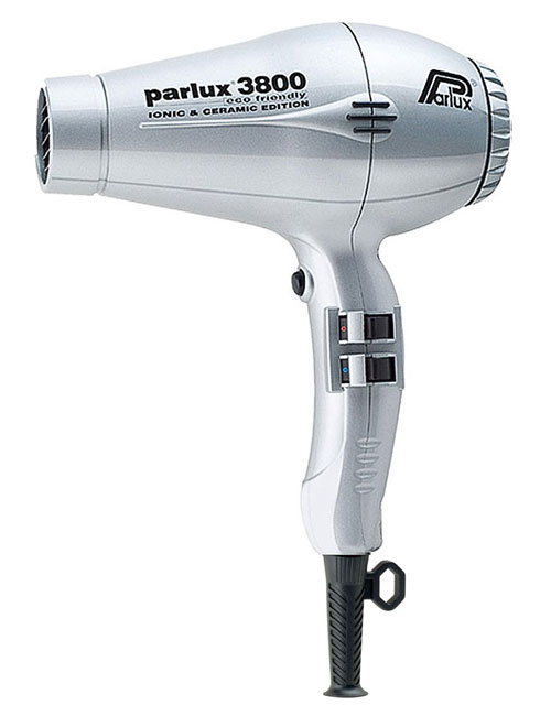 Parlux-3800-Eco Friendly Dryer in Silver