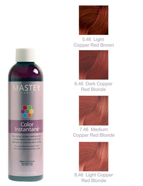 MASTEY Color Instantane COPPER RED
