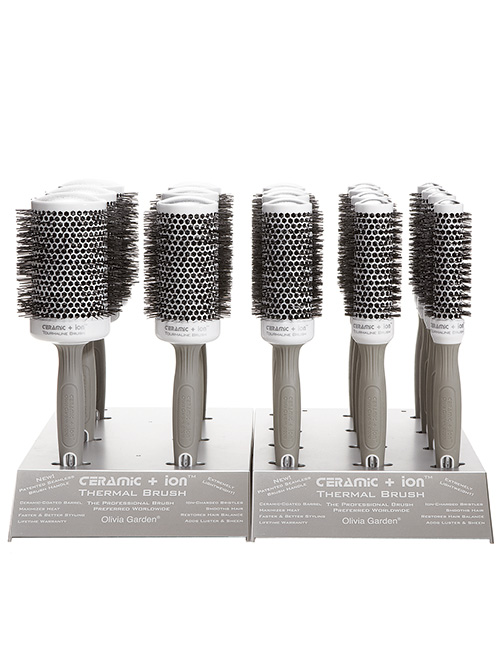 olivia garden-ceramic-ion-18pc brush display