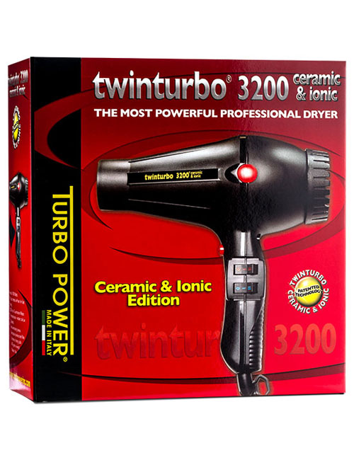 PIB-323BOX Twin Turbo 3200 Ceramic Ionic Dryer