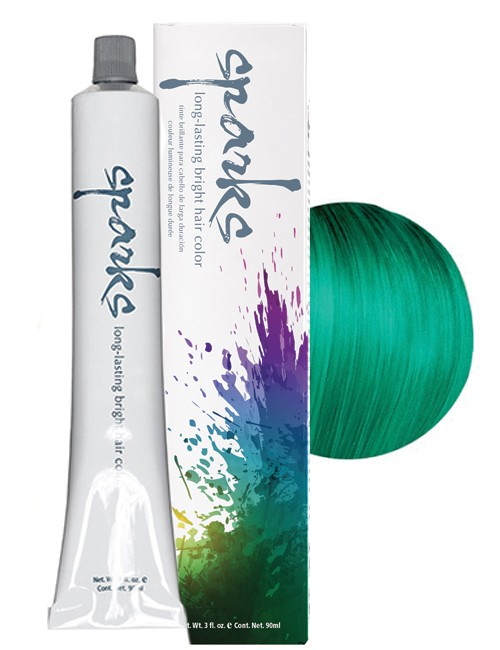 SPARKS-HAIR COLOR GREEN-IVY