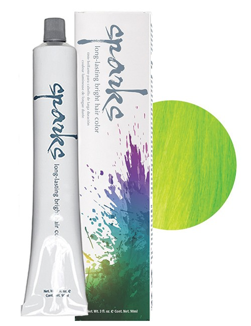 SPARKS-HAIR COLOR KEY LIME