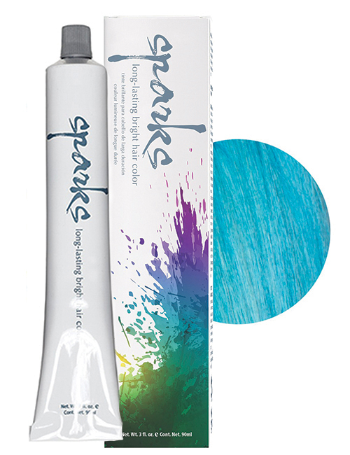 SPARKS-HAIR COLOR MERMAID BLUE