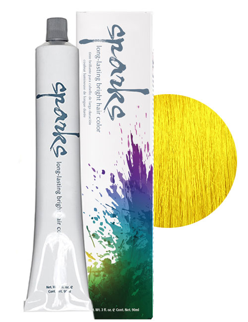 sparks-yellow-haircolor