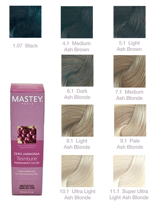 Mastey Teinture Zero Ammonia Hair Color