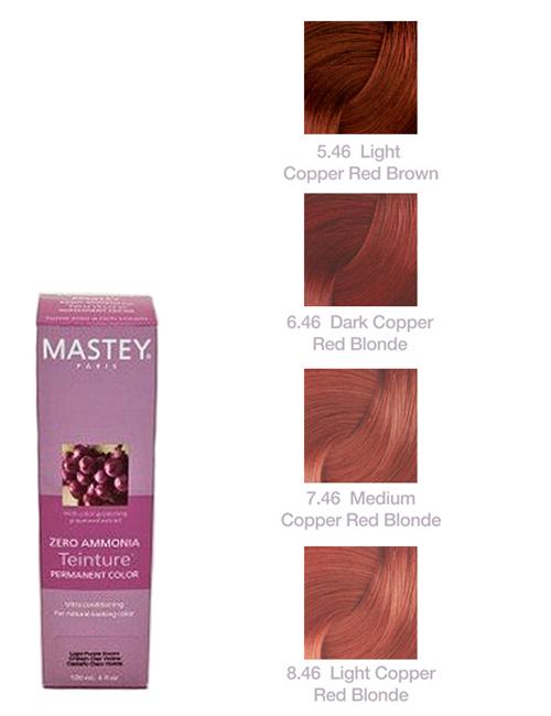 TEINTURE-COPPER-RED Mastey Teinture Zero Ammonia Hair Color