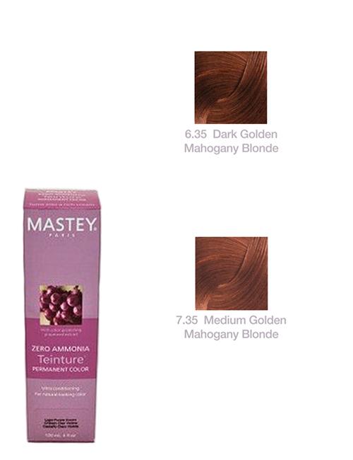 TEINTURE-GOLD-MAHAGOANY Mastey Teinture Zero Ammonia Hair Color