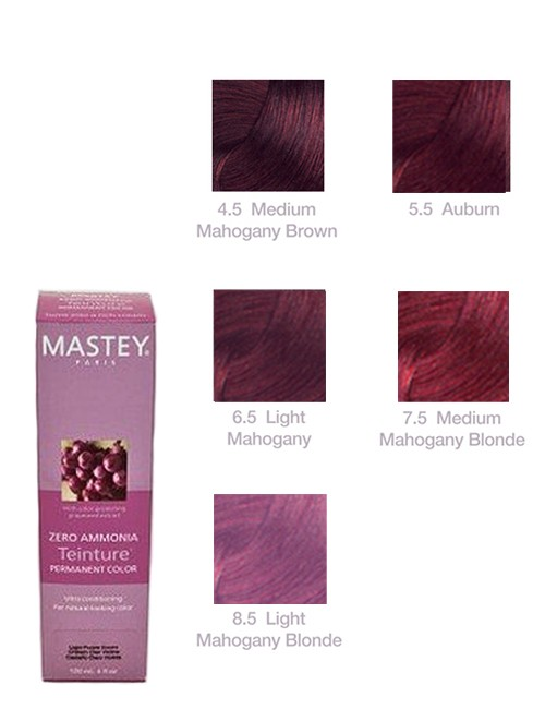 TEINTURE-MAHOGANY Mastey Teinture Zero Ammonia Hair Color