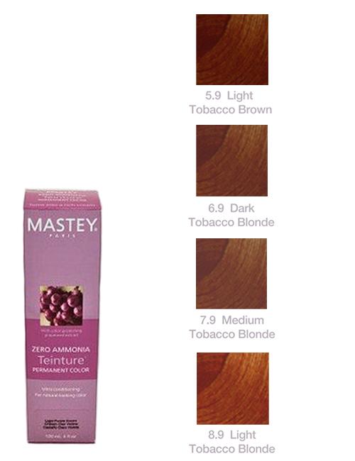 TEINTURE-TOBACCO Mastey Teinture Zero Ammonia Hair Color