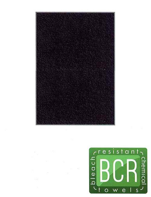 Bleach Safe Towels-Black