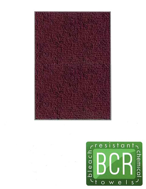 American Dawn Salon Towels-Burgundy