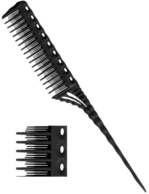 YS Park Teasing-Comb-150-black