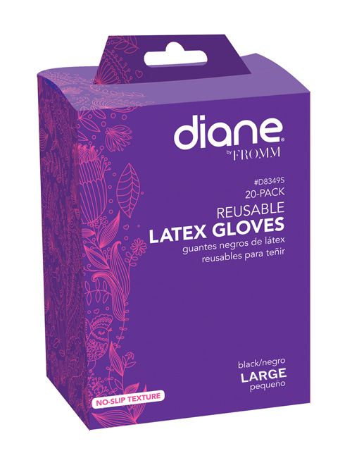 Diane-Re-usable-black-Gloves-Large