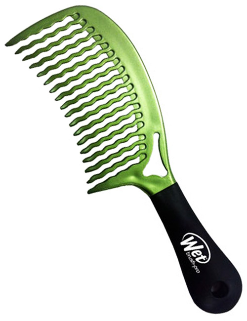 Wet-Comb-Detangler-Green
