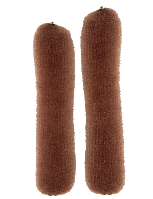 Efalock-brown-2-sizes-knotenrolle-with-snap