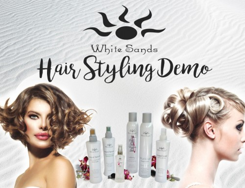 WHITE SANDS LIQUID TEXTURE STYLING DEMO