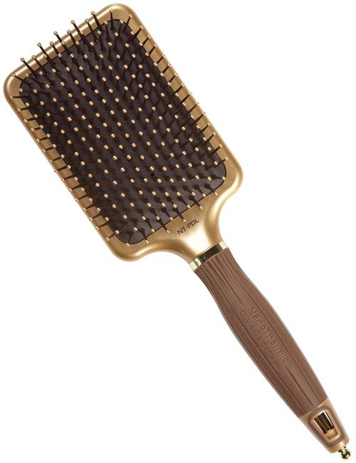 olivia garden nano thermic gold paddle olint-pdl