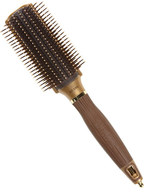 olivia graden nano thermic gold 9-row brush
