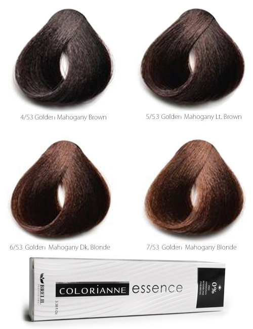 Colorianne Essence Zero Ammonia Hair Color ESS-WARM-MAHOGANY