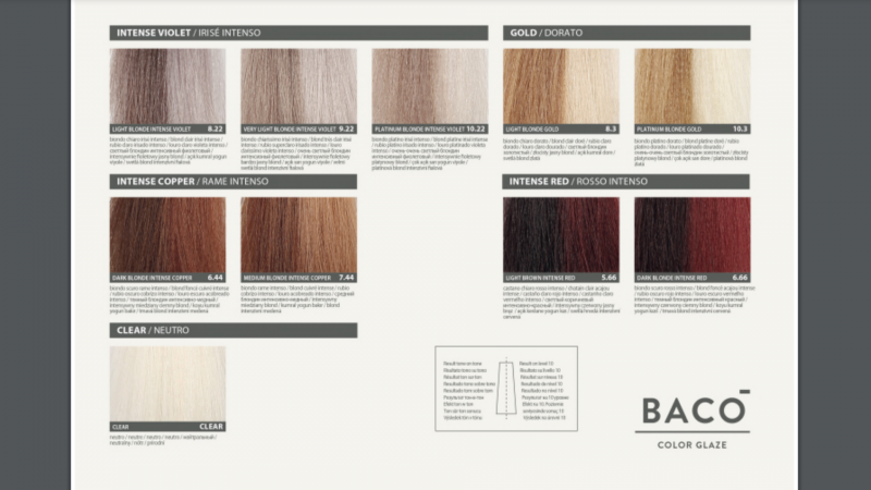 BACO color chart 2
